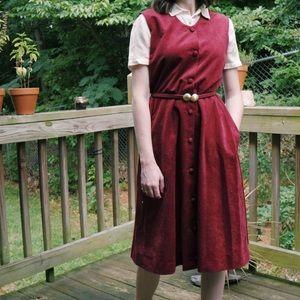 Vintage Hand-made Jumper-dress